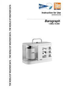 Barographe THIES