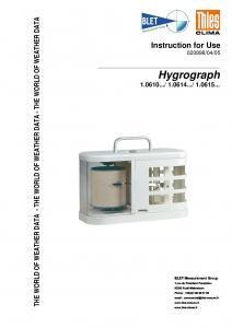 HYDROGRAPHE THIES